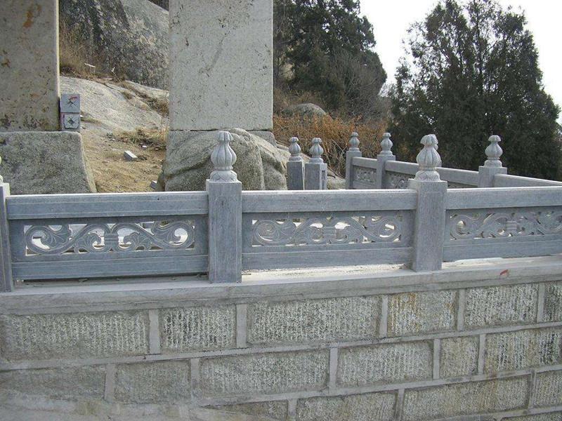 青石石材欄桿
