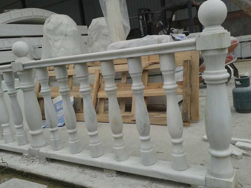 大理石柱子護欄