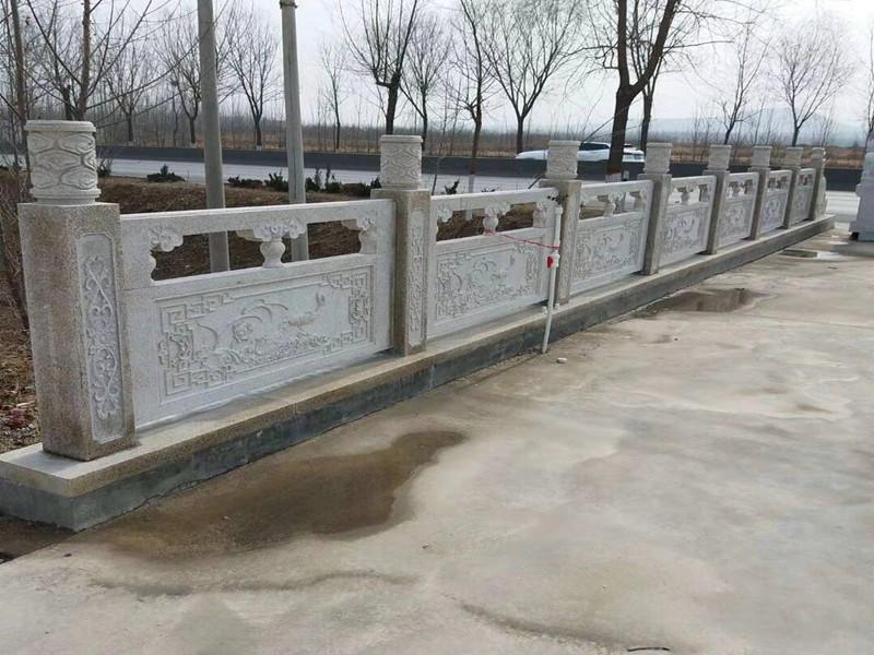 河道石材欄桿
