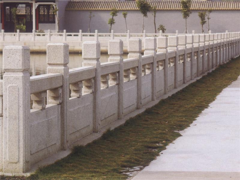 中式石材欄桿