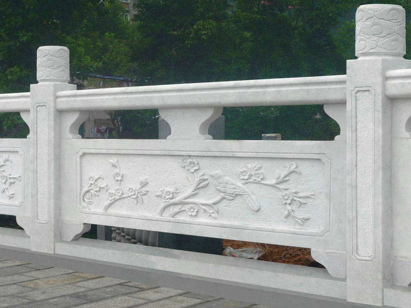 白色花崗巖欄桿