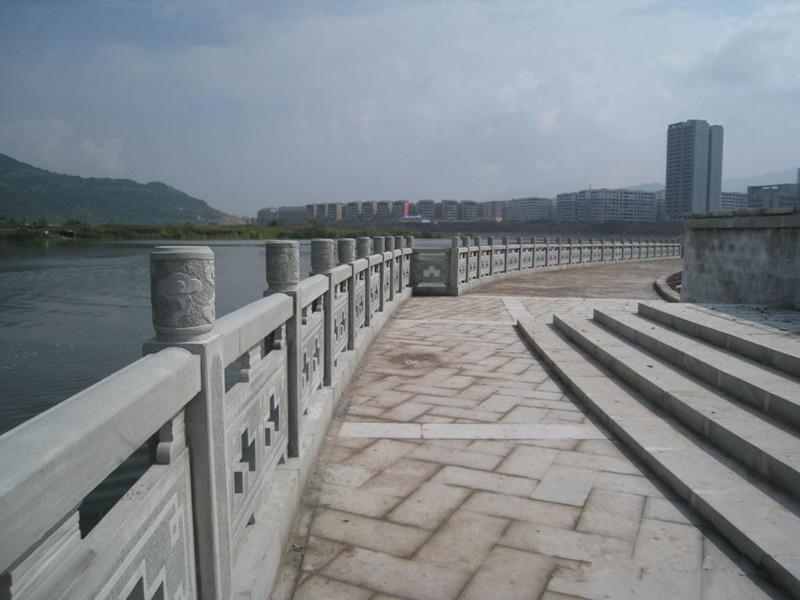 橋梁青石欄桿